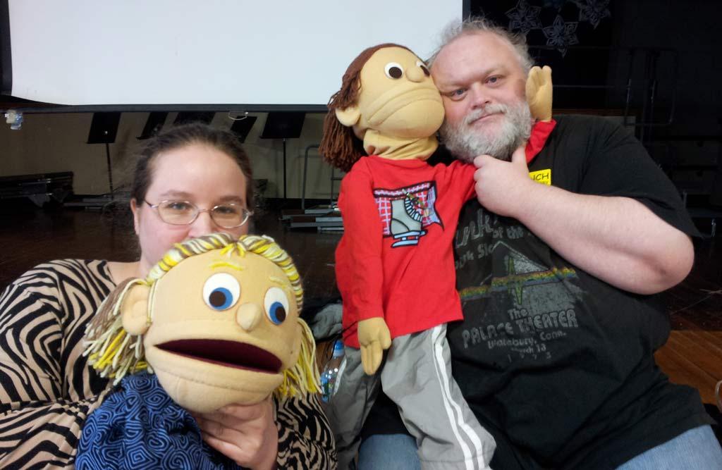puppet show April 2013