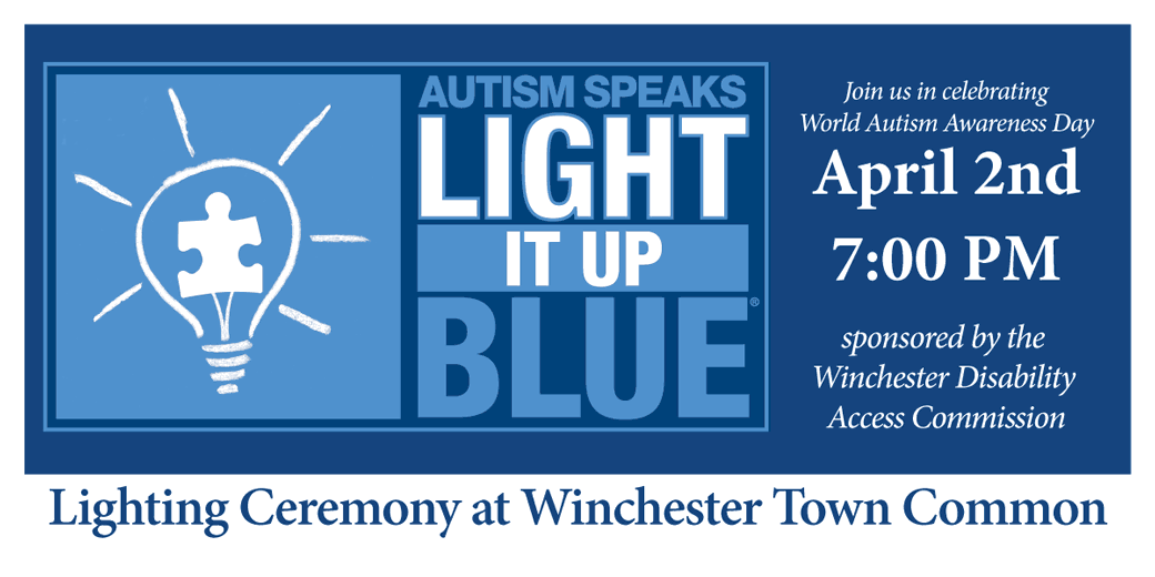 U0027Light It Up Blueu0027 Winchester! Awareness