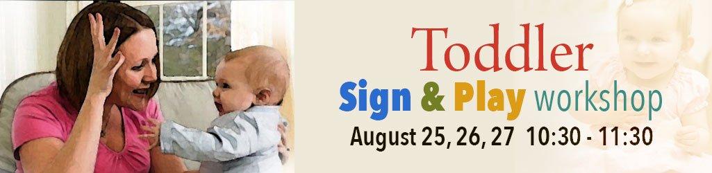 brio ASL Toddler Workshop