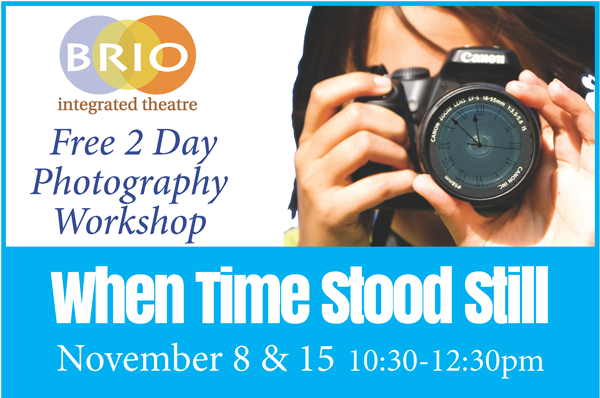 Studio Photography workshop
