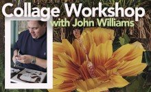 Collage workshop with John Williams