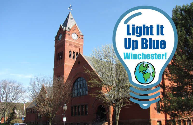 Town Hall April 6 Light It Up Blue