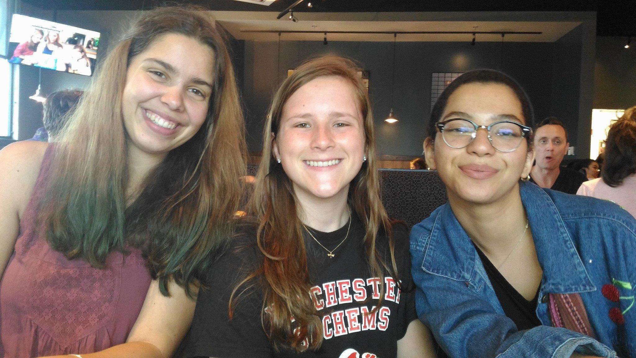 Brio Interns: Ruby, Sophie, Leila