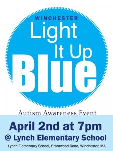 Autism Awareness Light It Up Blue