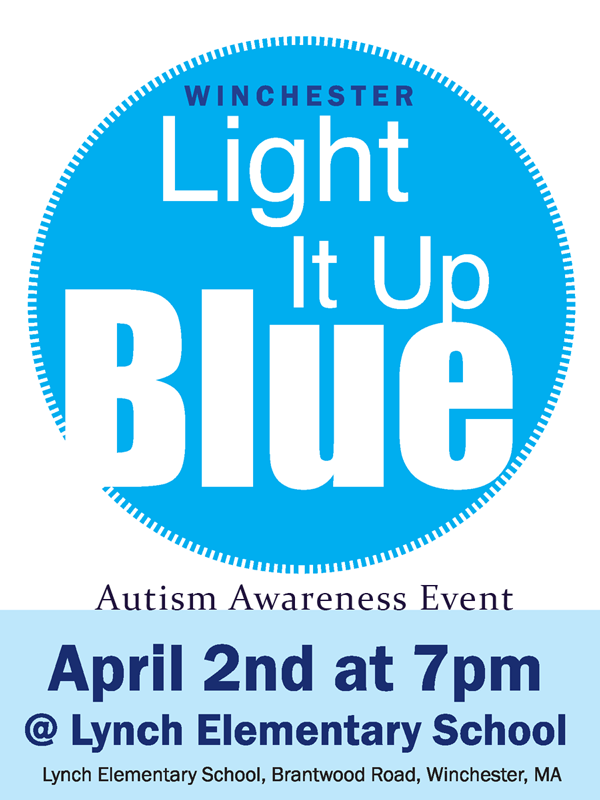 Autism Awareness Light It Up Blue