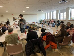 Eli Portman Painting workshop