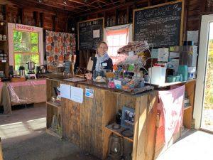 Wright-Locke Farm FarmStand inside view