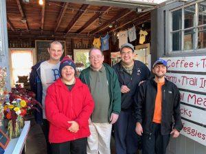 Brio interns at Wright-Locke Farm